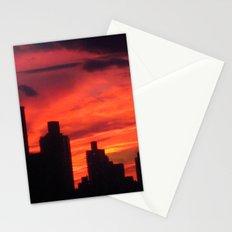 City Sunset Stationery Cards