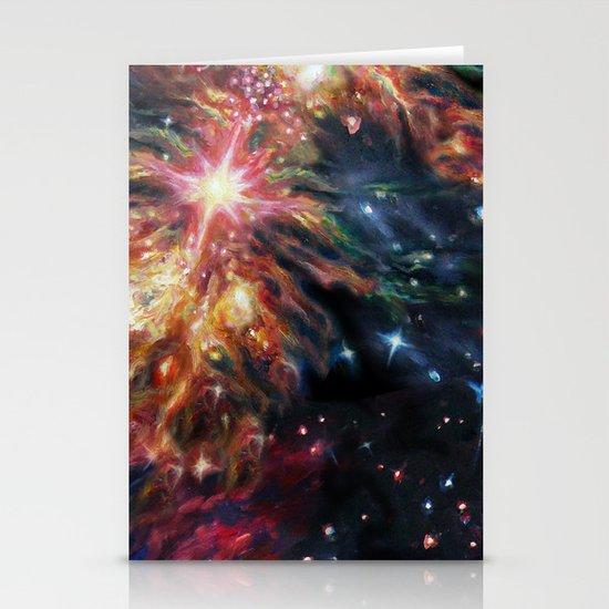 Galaxy Stationery Card