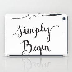Simply Begin iPad Case