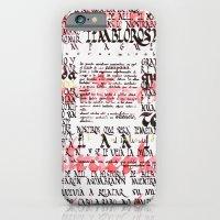 Calligraphic poster iPhone 6 Slim Case