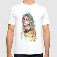 Efflorescence Mens Fitted Tee White SMALL