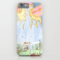 iPhone & iPod Case featuring The Mountian. by Nate Twombly