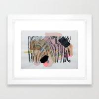 Ze Framed Art Print
