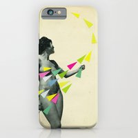 iPhone & iPod Case featuring She's a Whirlwind by Cassia Beck
