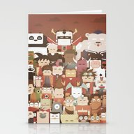 The Nick Yorkers Family … Stationery Cards