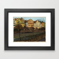 Judith's Walk Framed Art Print