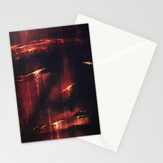 Red I Stationery Cards