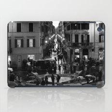 Rain in Rome iPad Case