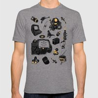 Artifacts: Fallout Mens Fitted Tee Tri-Grey SMALL