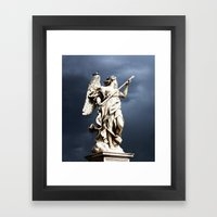 Storm Coming Framed Art Print