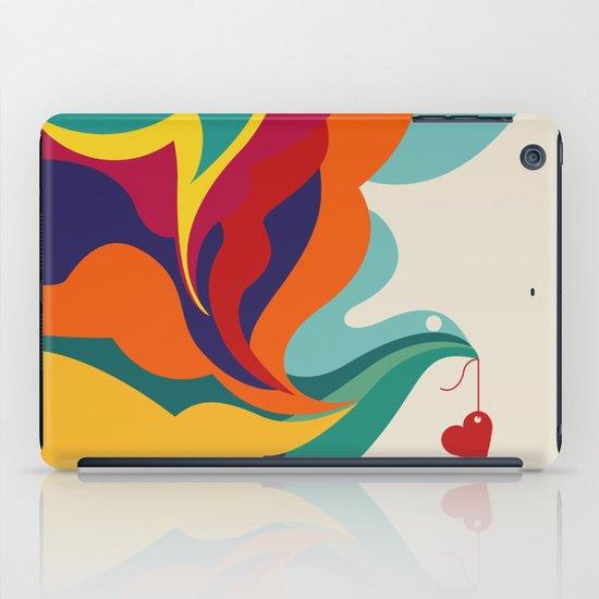 Love Message iPad Case