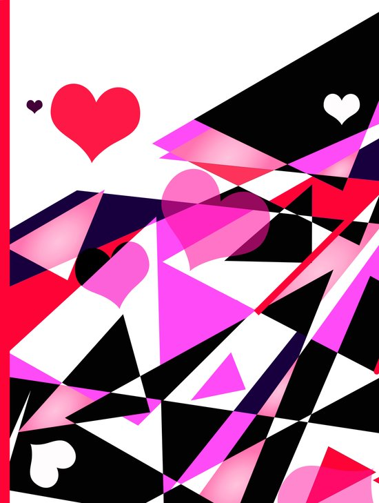 Single Track to Love 1 Art Print