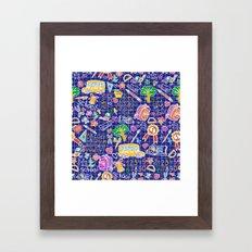 School teacher #7 Framed Art Print
