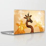 The Unicorn Giraffe Laptop & iPad Skin