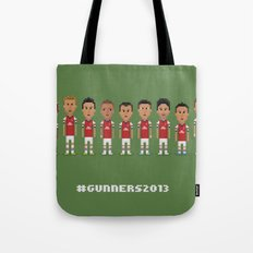 #Gunners2013 Tote Bag