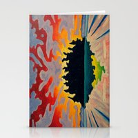 Totem Island Stationery Cards
