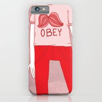 iPhone & iPod Case featuring OBEY by monrix