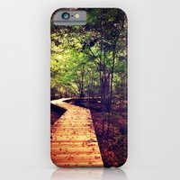 iPhone & iPod Case featuring Don't Stop Walking by Caleb Troy