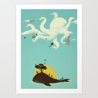 Art Print featuring Beyond the Sea by Jay Fleck