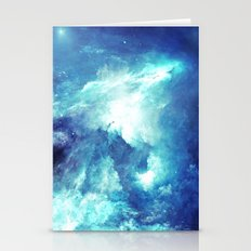 Stardust Waves Stationery Cards