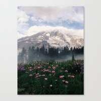 Mt Rainier Canvas Print