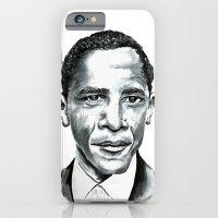 obama iPhone & iPod Cases featuring Obama by Bridget Davidson