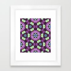 Kaleidoscope - Floral Fantasy Framed Art Print
