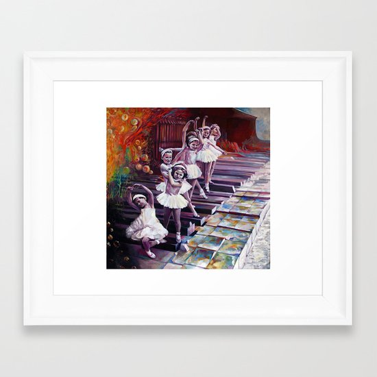 Satie Framed Art Print