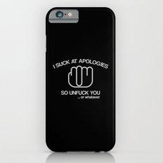 Unfuck You iPhone 6s Slim Case