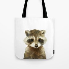 Little Raccoon Tote Bag