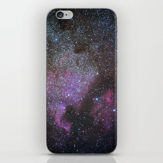 North America Nebula and Pelican Nebula iPhone & iPod Skin