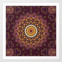 Enchanted Autumn -- Mand… Art Print