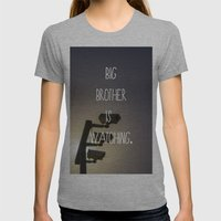 Big Brother Womens Fitted Tee Athletic Grey SMALL
