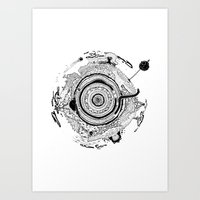 Little Planet Art Print