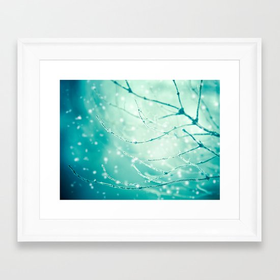 Sparkle and Glow Framed Art Print