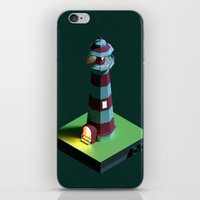 Lighthouse Night iPhone & iPod Skin