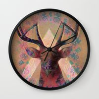 Wild Side  Wall Clock
