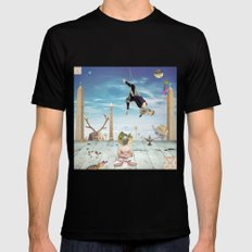 Gunas SMALL Mens Fitted Tee Black