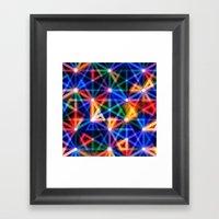 Flux Capacitor Geometric… Framed Art Print