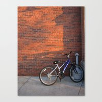 Do Not Worry How The Bicycle Looks Canvas Print