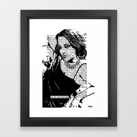 And the World Stood Still Framed Art Print