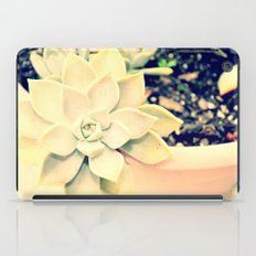 WhiteFlower iPad Case