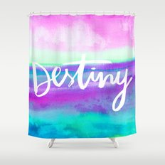 Destiny [Collaboration with Jacqueline Maldonado] Shower Curtain