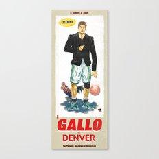 Gallo di Denver Canvas Print