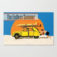 An Endless Summer bummer Canvas Print