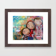 Goodbye Summer Framed Art Print