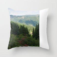 Molalla Oregon  Throw Pillow