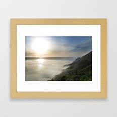 Big Sur California Coast - Sunset Framed Art Print