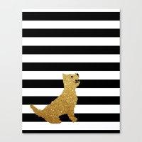 Highland Westie Terrier … Canvas Print