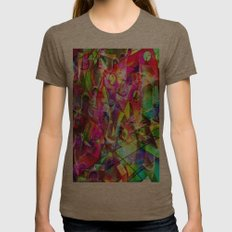 Each After The Die Shows… Womens Fitted Tee Tri-Coffee SMALL